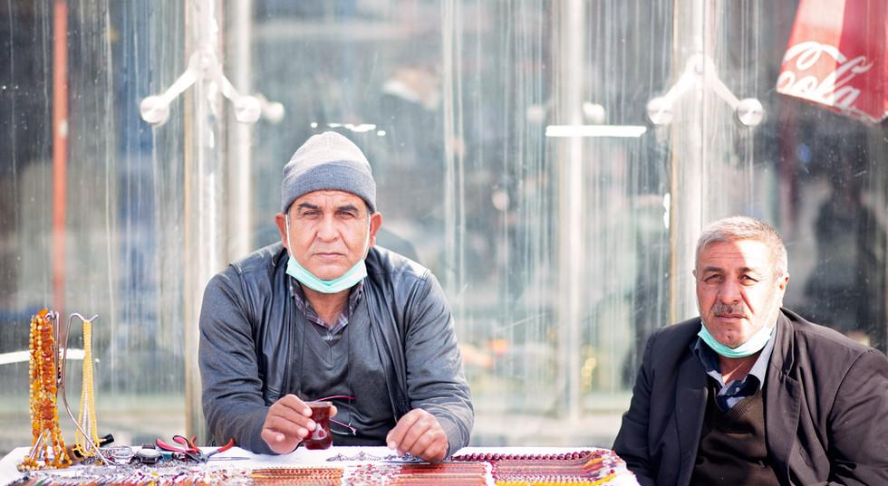 Turkish Men Drinking Tea
