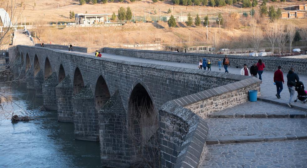 Bridge Over The Tigris River in Diyarbakir
