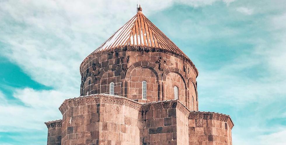 Beautiful Turkish Architecture In Kars City