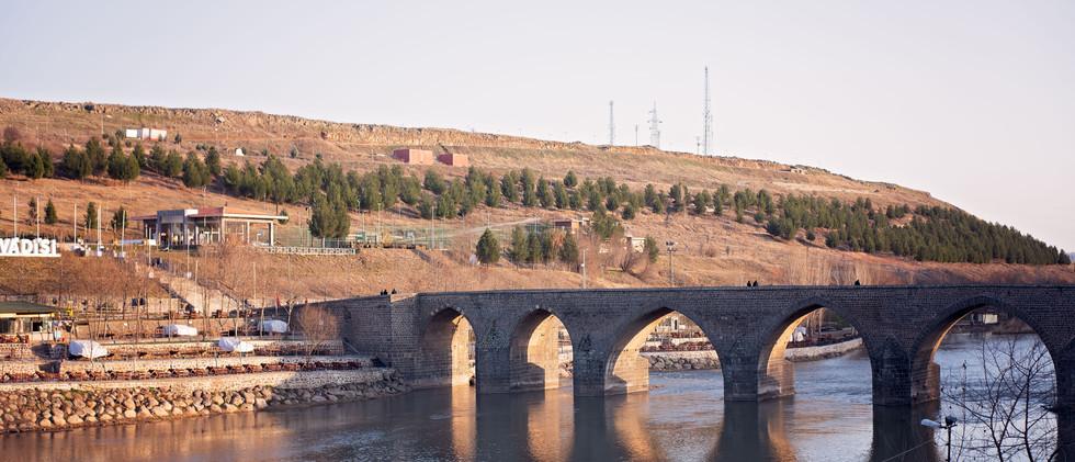 Dicle Bridge OVer Tigris River