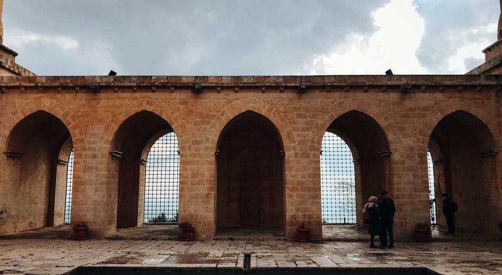 Limestone Wall In Mardin City