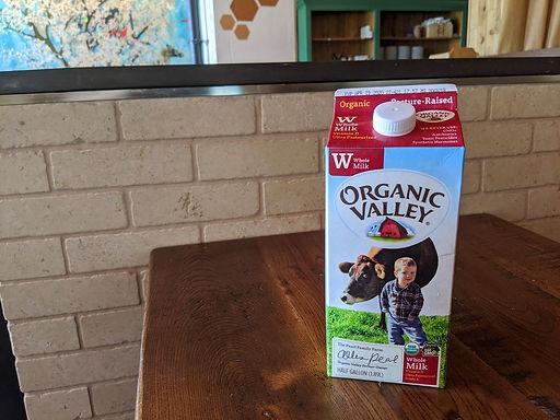 Organic Whole Milk