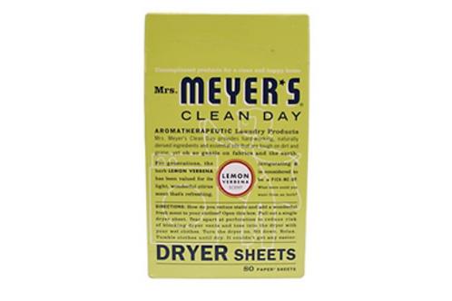Dryer Sheets, Mrs. Meyer's (Lemon Verbena)