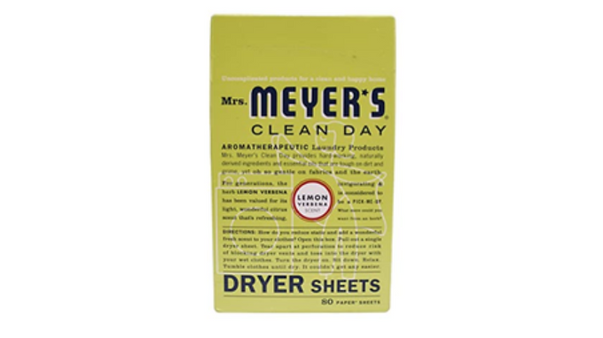 Dryer Sheets, Mrs. Meyer's (Lemon Verbena)