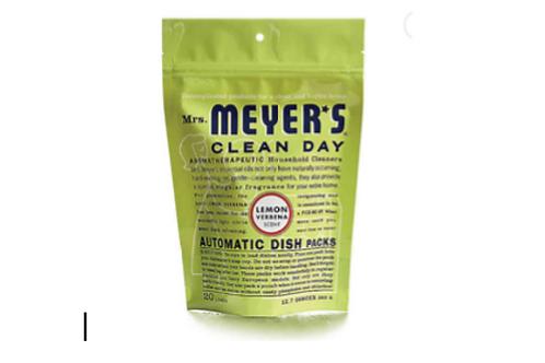 Automatic Dishwasher Soap Packs, Mrs. Meyer's (Lemon Verbena)