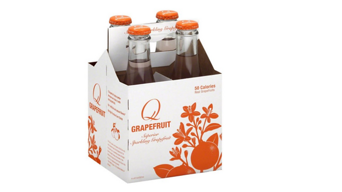 Q Spectacular Grapefruit Soda