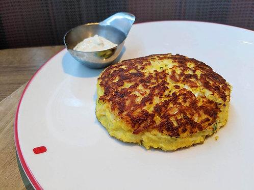 Crab Cake with Tartar Sauce