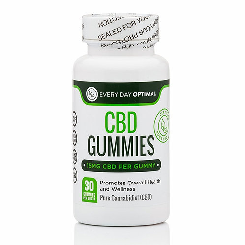 CBD Gummies, 15mg (30 count)
