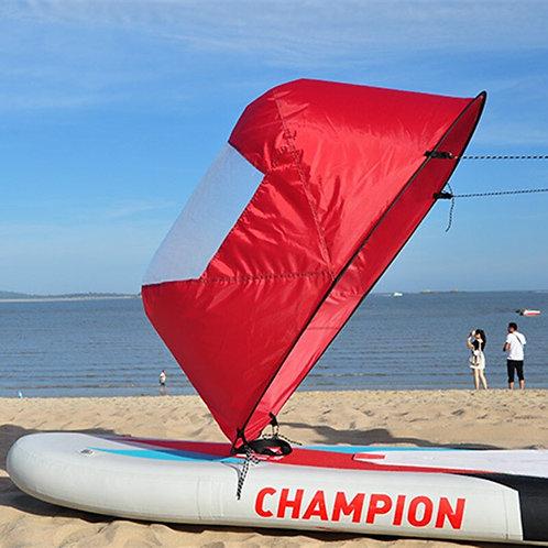 Folding Popup Board Wind Paddle & Kayak Sail 4-Piece