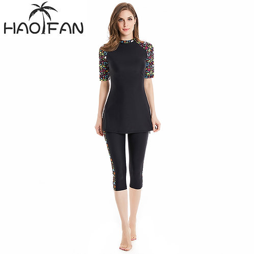 HAOFAN Hijab Swimwear