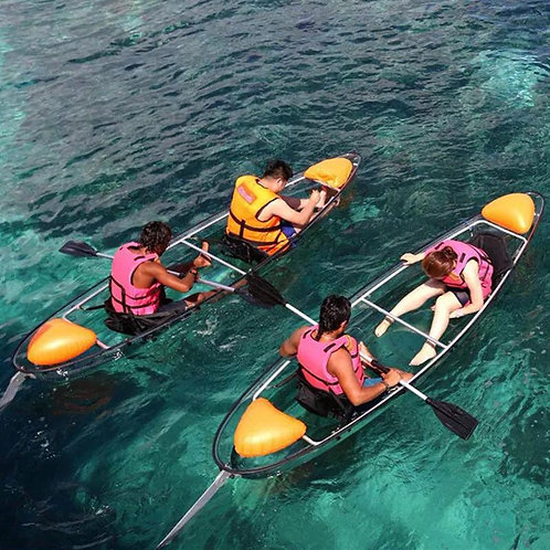 Clear Kayak Double Seat