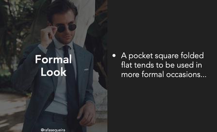 Formal Look Tips