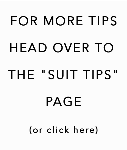 More Suit Tips