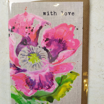 With love Flowers