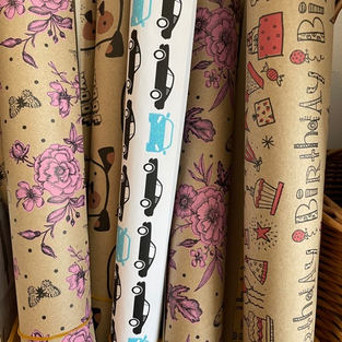 Sheets of Wrapping Paper