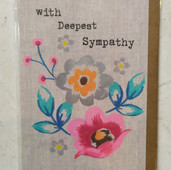 Sympathy with Flowers