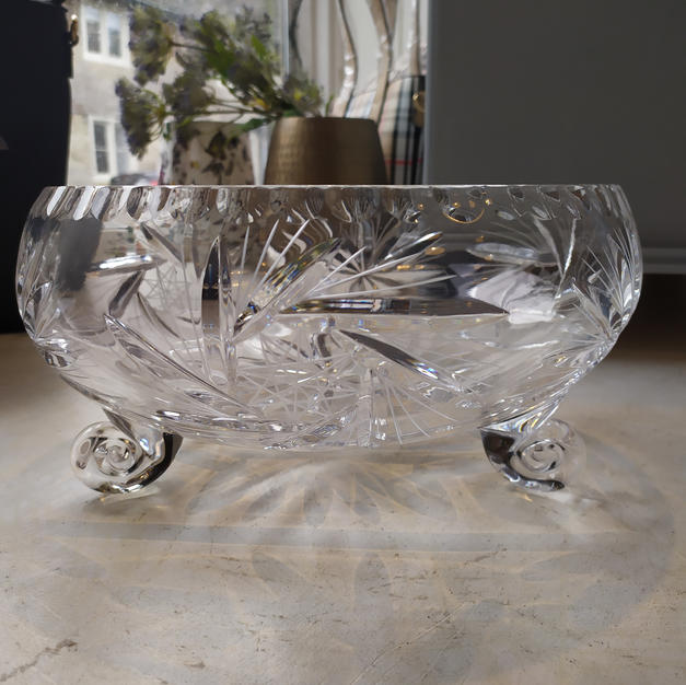 Beautiful Glass Fruit Bowl