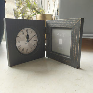 Clock with Picture Frame