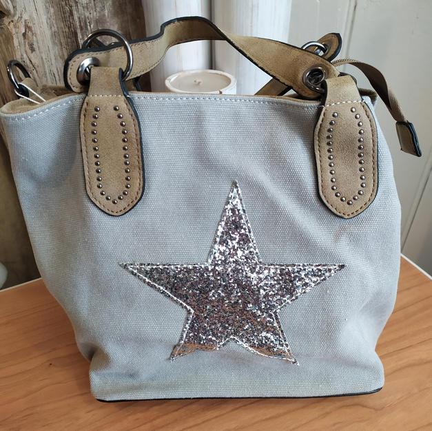 Silver Star Handbag