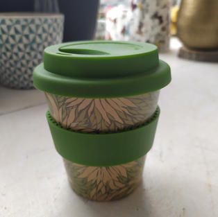 Travel Mug - Rice Husk