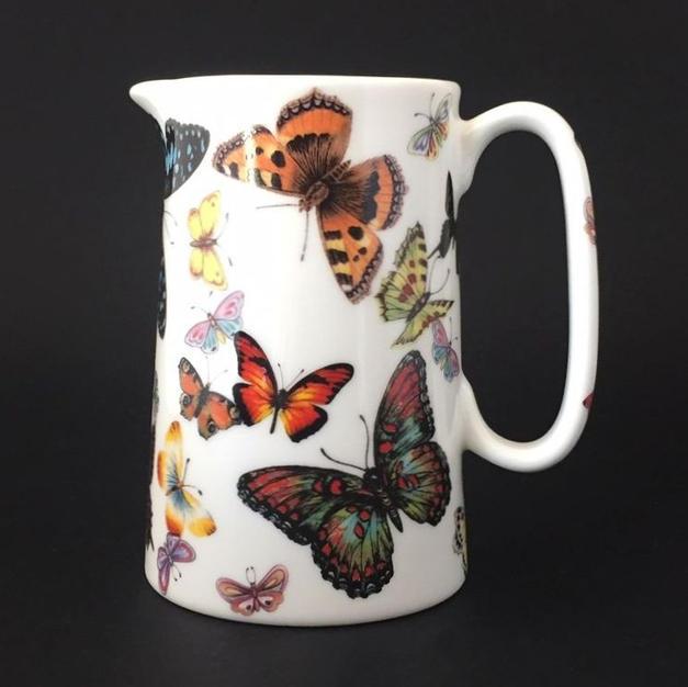 Butterflies Galore - 1 Pint Jug - Front