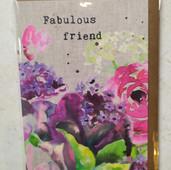 Fab Freind - flowers