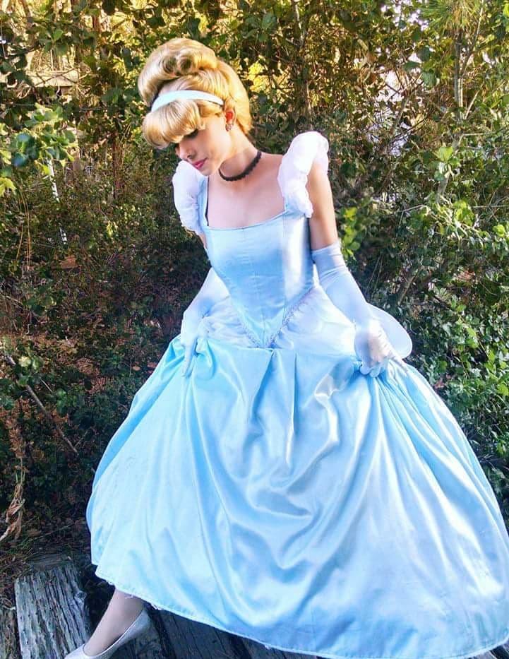 Cinderella and her glass slipper