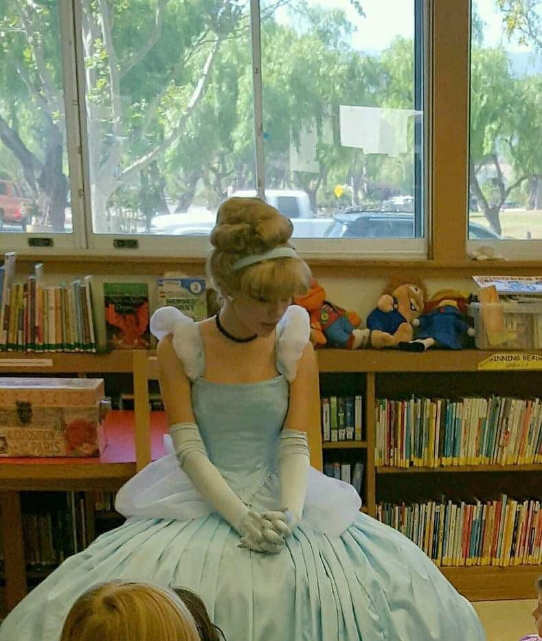 Cinderella at storytime