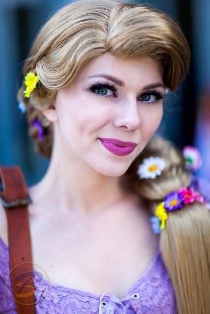 Rapunzel Costumed Character