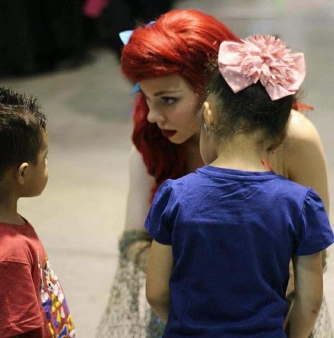 Little Mermaid and Kids