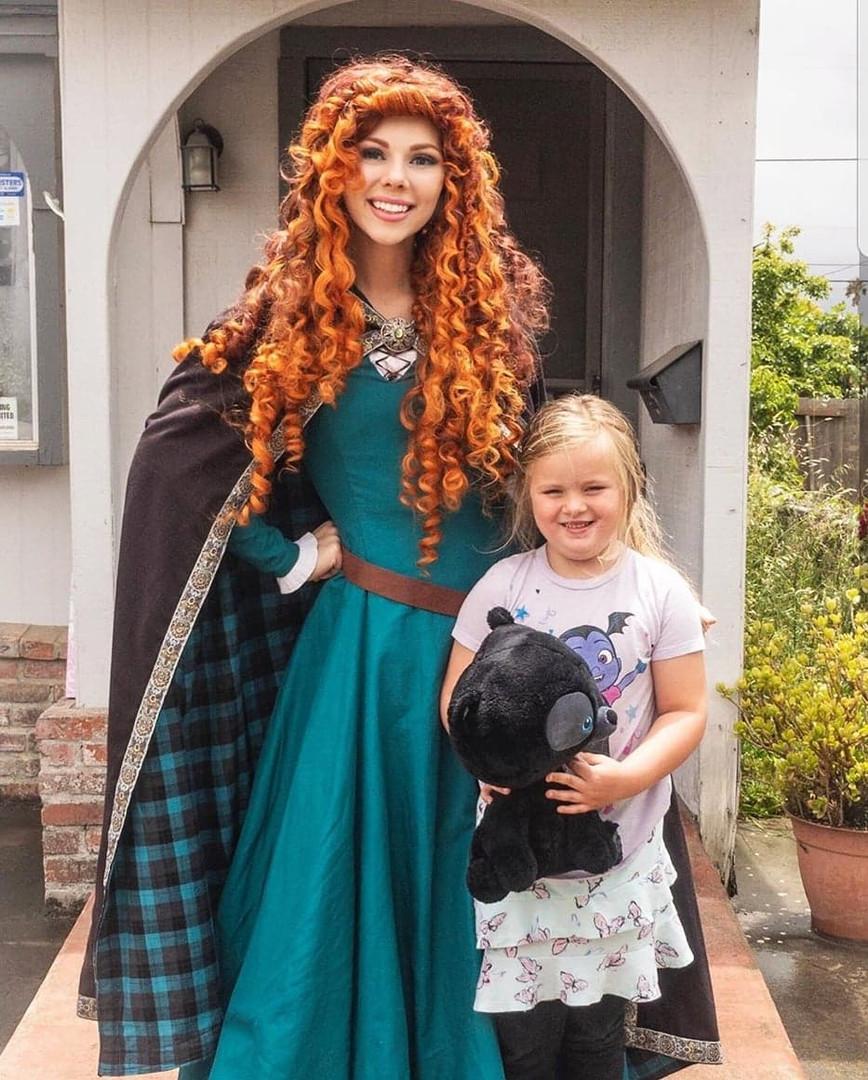 Scottish Princess in Santa Maria