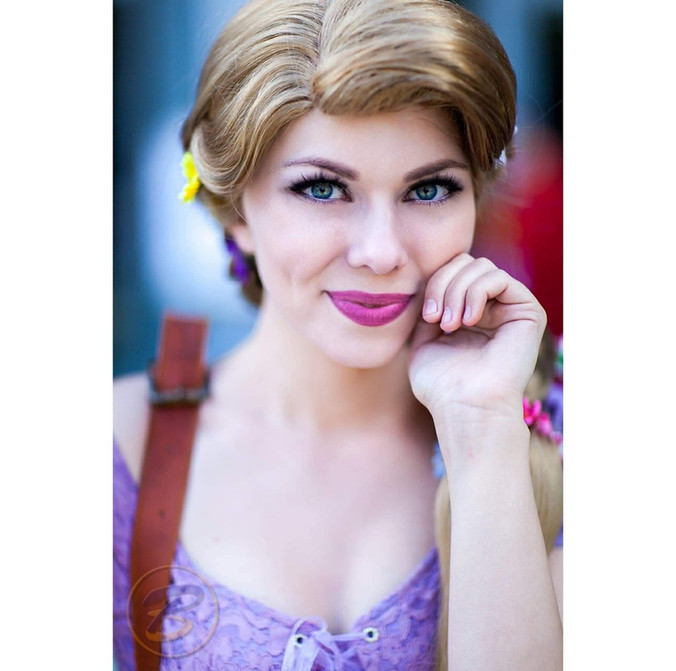 Rapunzel Princess Performer