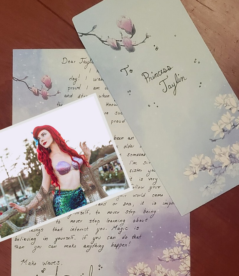 a letter from the little mermaid. jpg