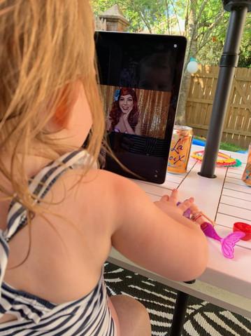 Little Mermaid Video Chat