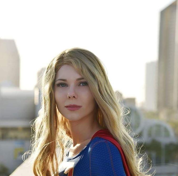 Superhero Girl Costumed Character