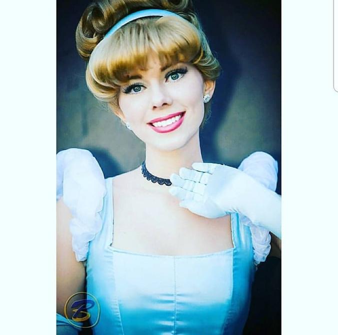 Cinderella Princess Performer