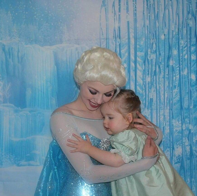 Snow Queen with Child