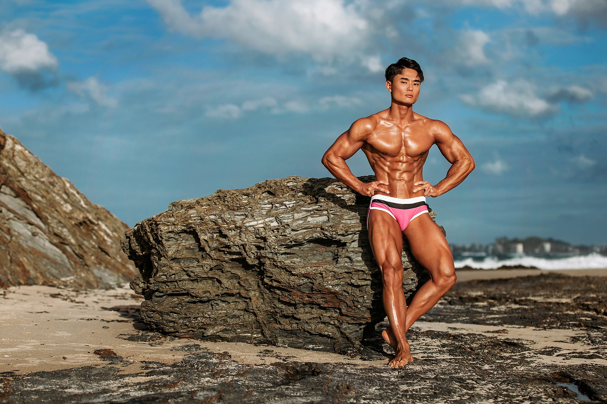 IFBB Gold Coast fitness photographer