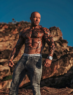 fitness photographer Jarrod Carter