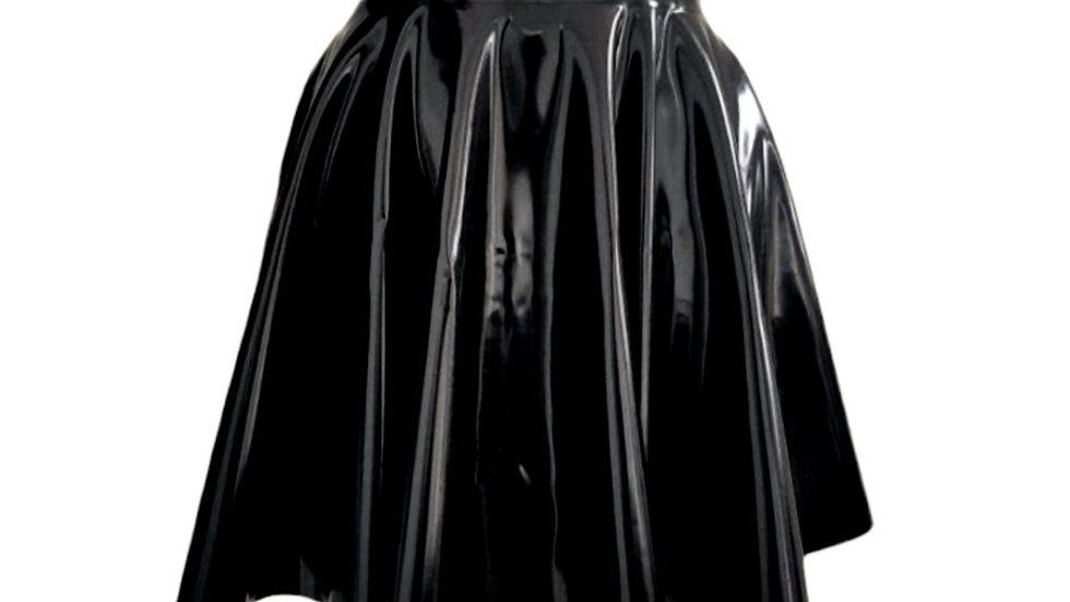 Triple Goddess High Waist Skater Skirt