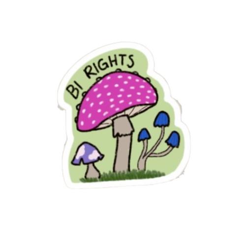 Bi Rights Sticker