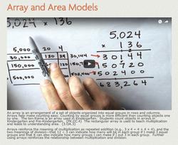 Array & Area Models
