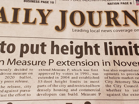San Mateo To Put Height Limits On Ballot!