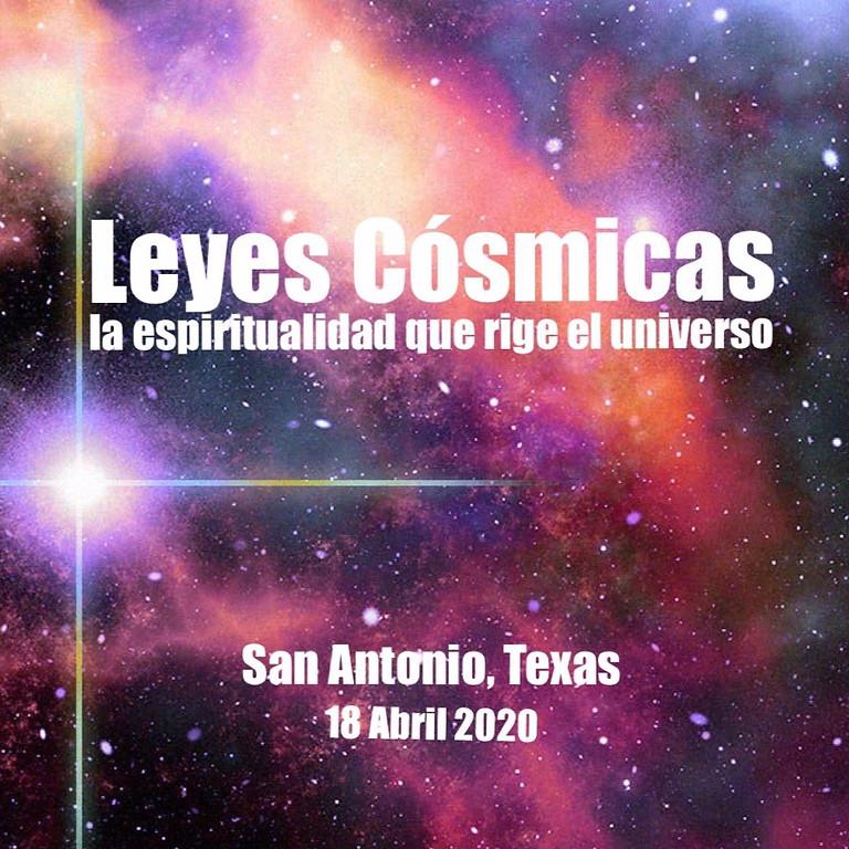 LEYES COSMICAS en SAN ANTONIO