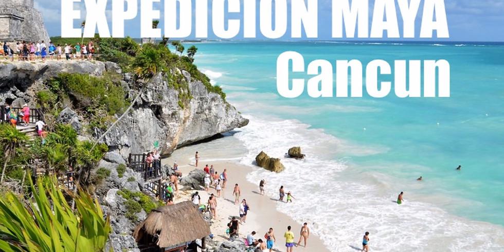 EXPEDICION PIRAMIDES MAYAS. CANCUN