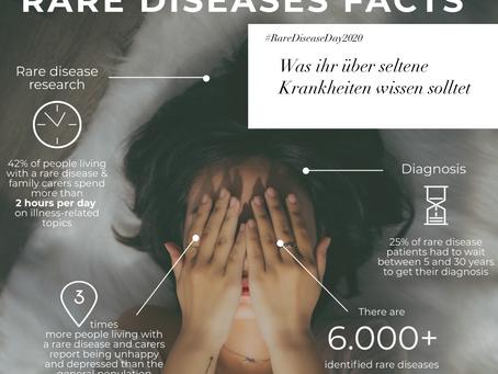 #RareDiseaseDay 2020 | Was ihr über seltene Krankheiten wissen solltet