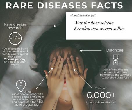 #RareDiseaseDay 2020   Was ihr über seltene Krankheiten wissen solltet