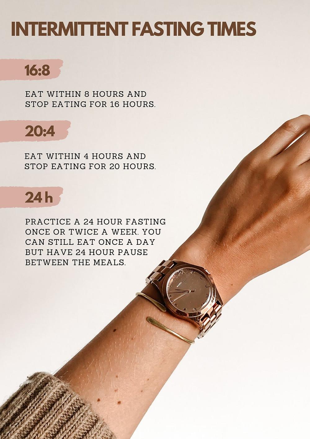 Factsheet: Intermittent Fasting