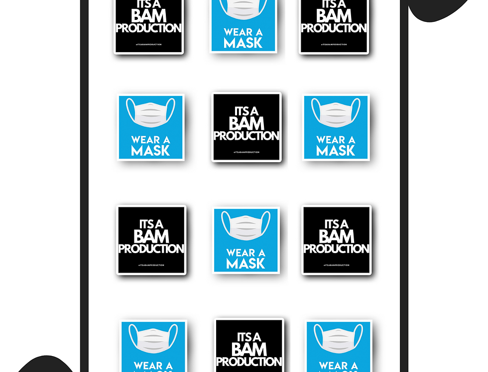 "2x2"" Square Sticker Sheet"