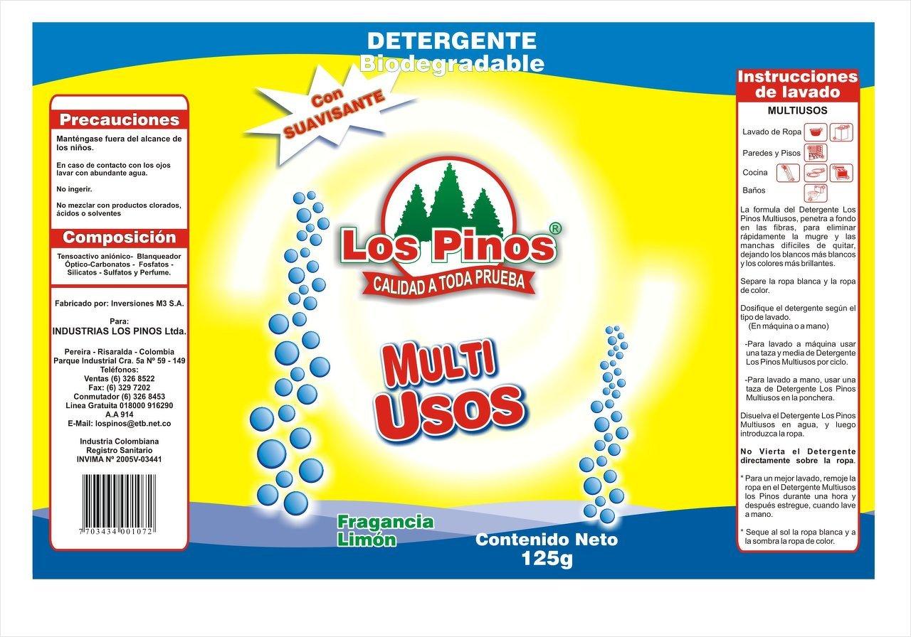 Empaque Los Pinos Arte Detergente